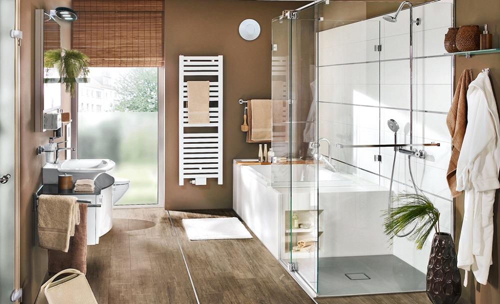 Einbau und Badübergabe